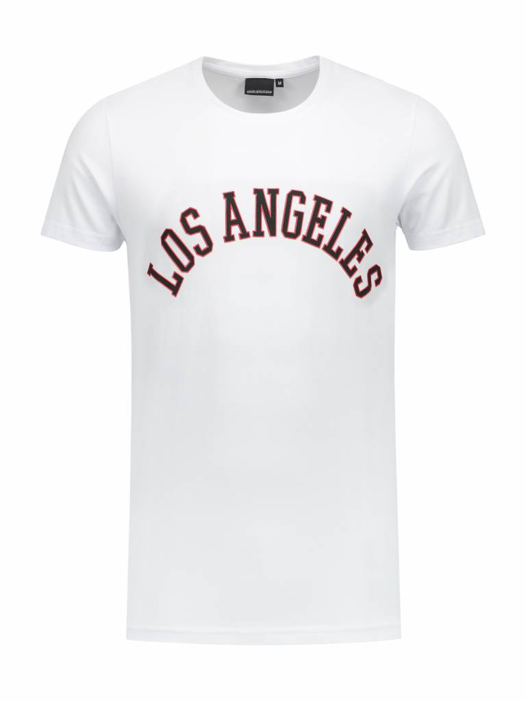 LA  City T-shirt | White