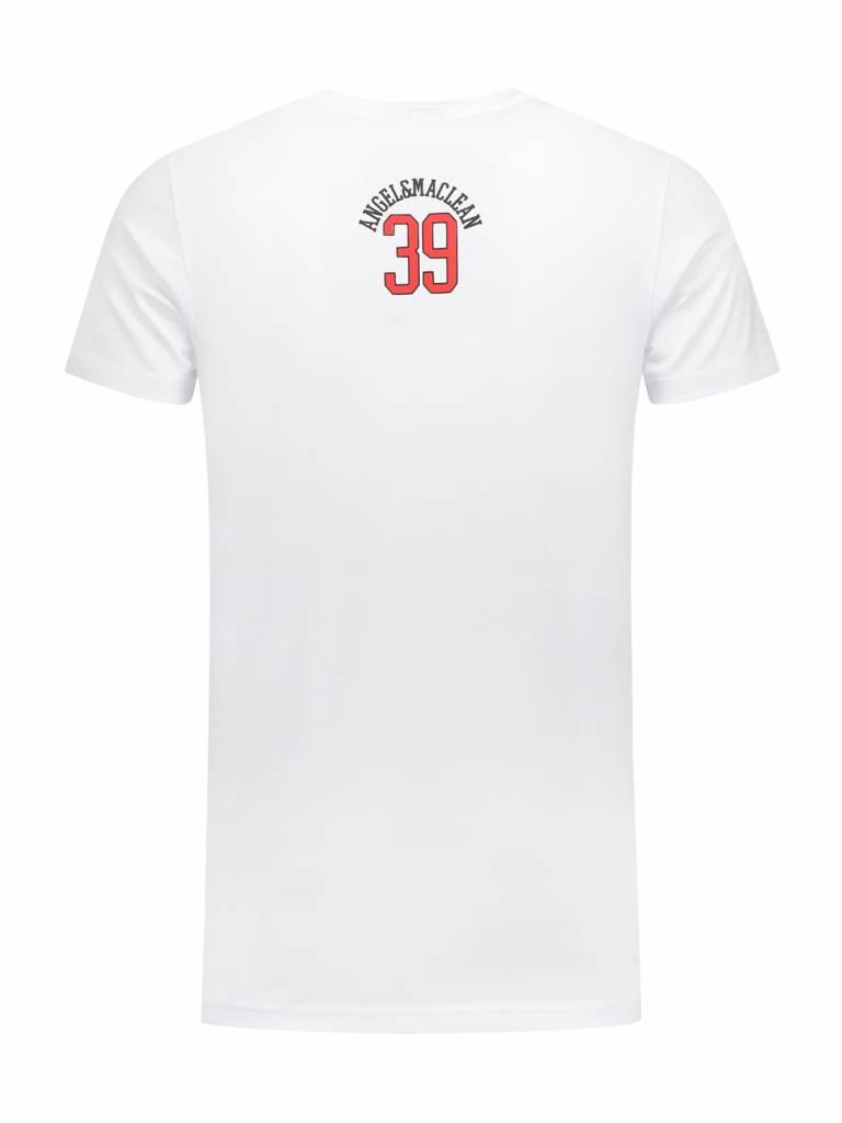 ANGEL&MACLEAN White Milano T-shirt
