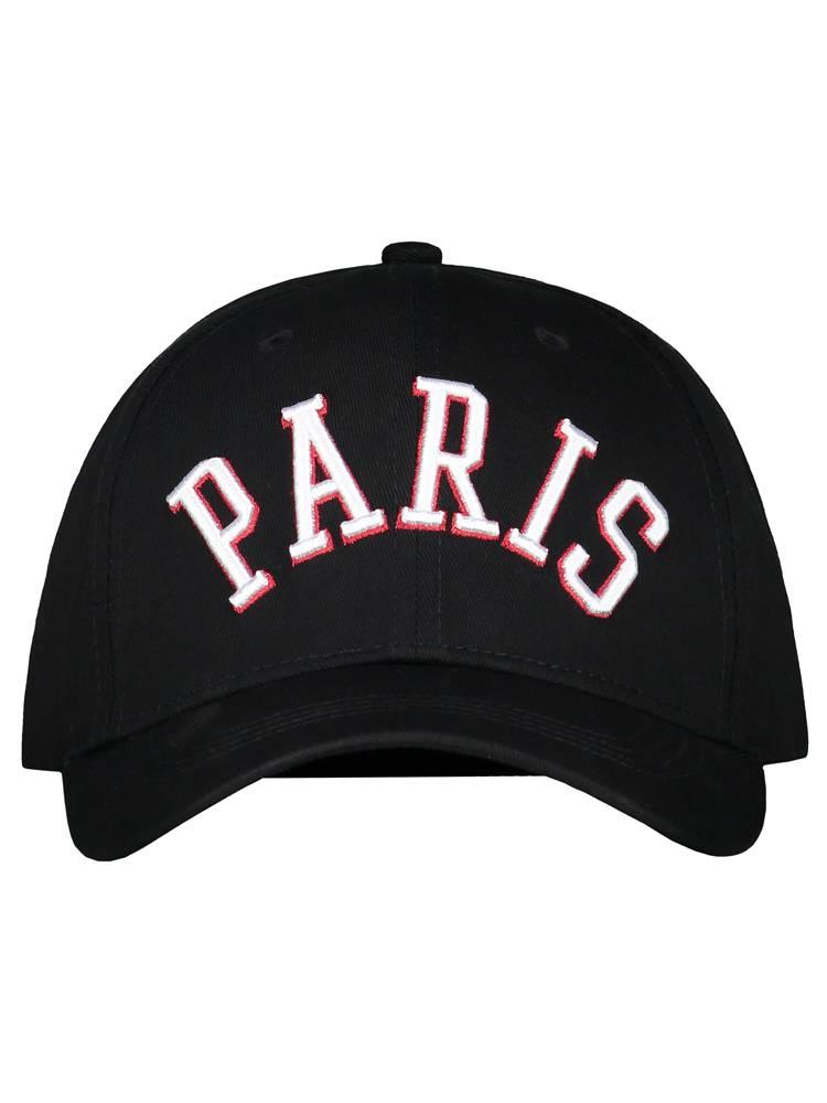 Black Paris Cap
