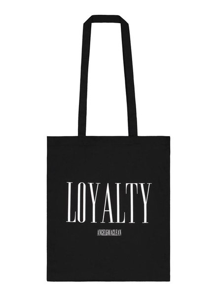 Black Loyalty Totebag
