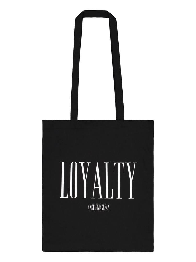 Black Loyalty Totebag
