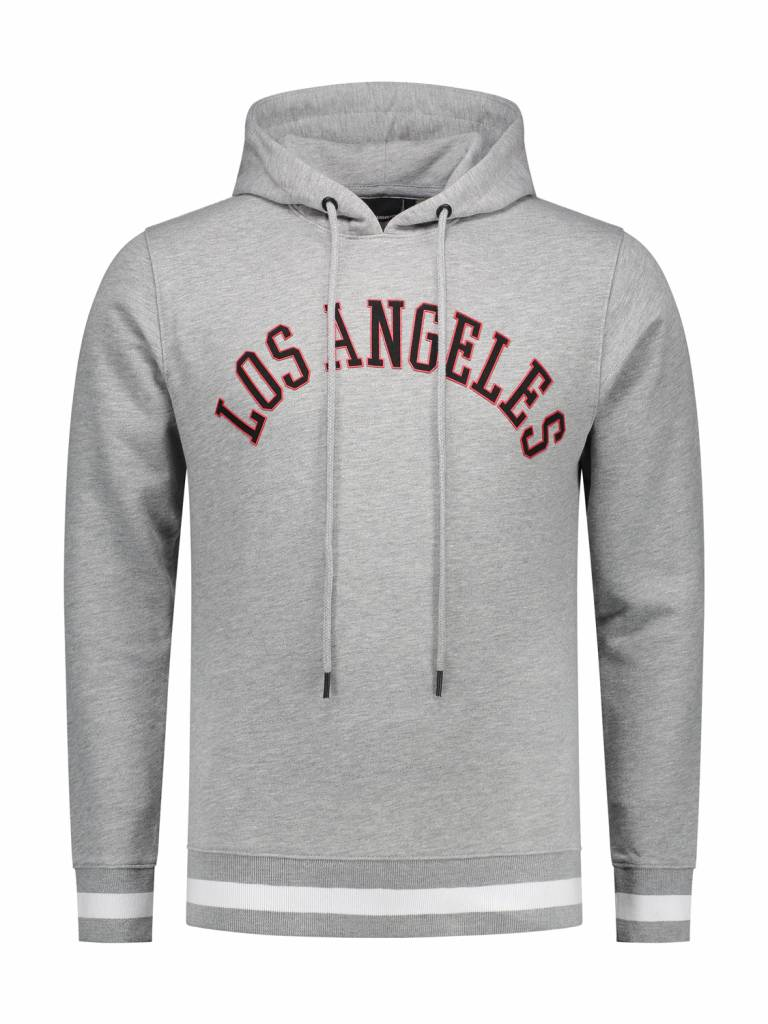 ANGEL&MACLEAN Grey LA City Hoodie