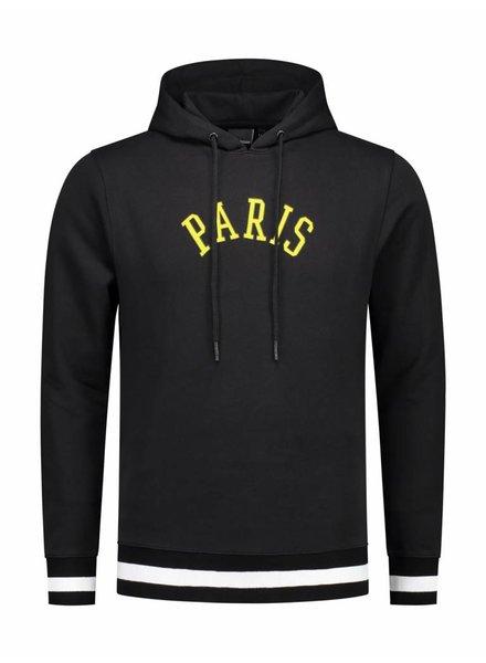 Paris City Hoodie | Black
