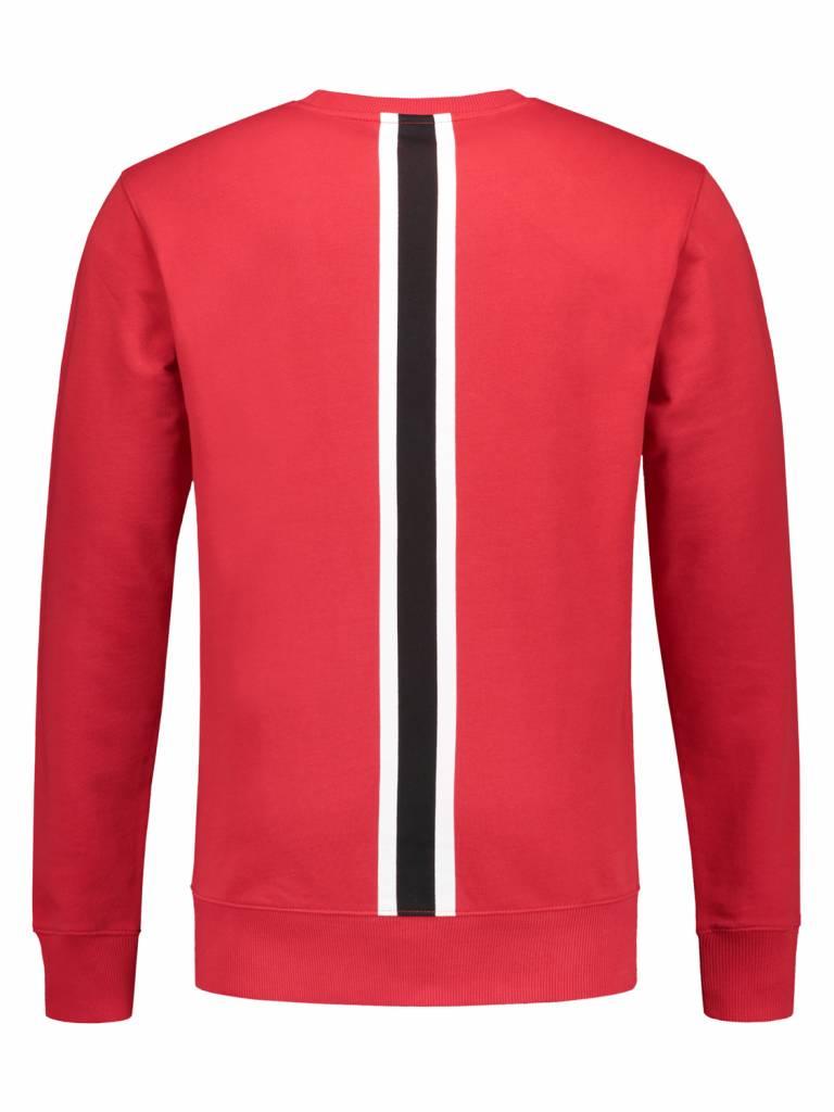 ANGEL&MACLEAN Red Stripe Sweater