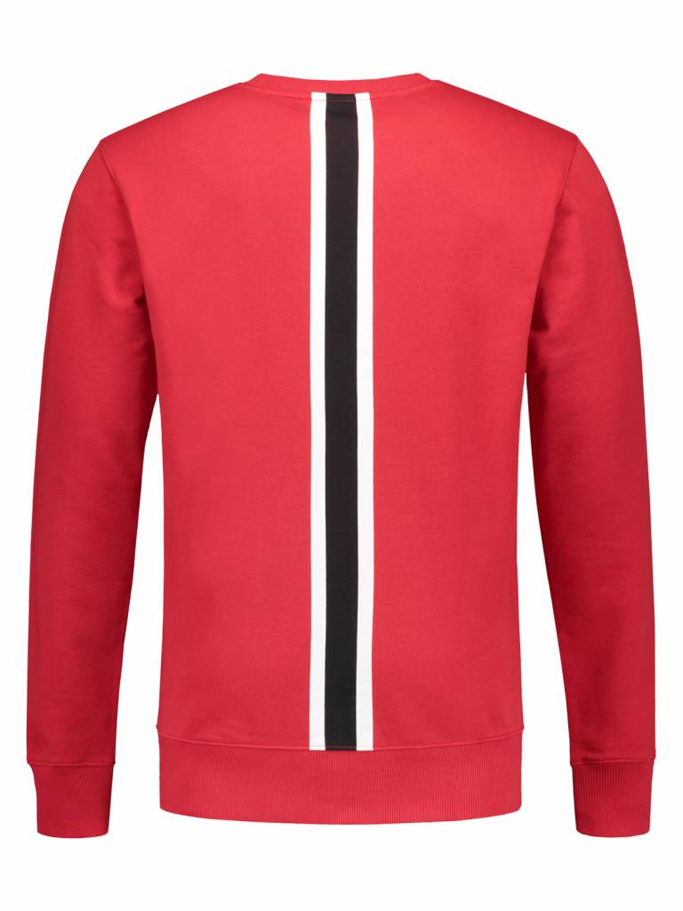Stripe Sweater | Red