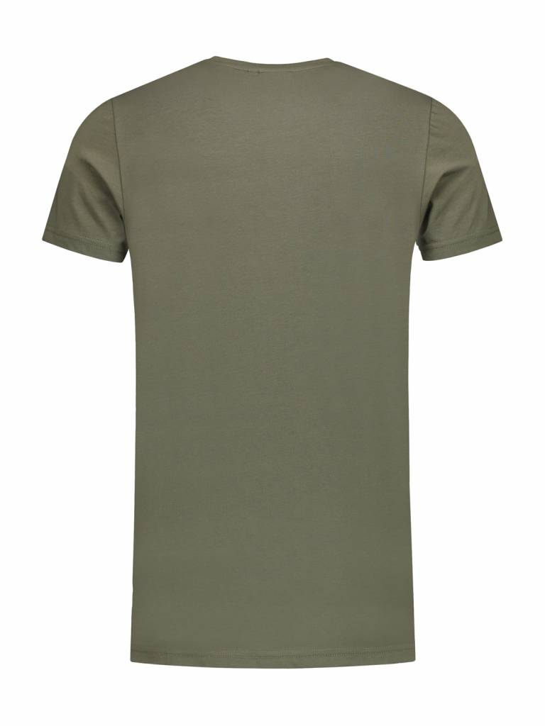 ANGEL&MACLEAN Army Logo T-shirt