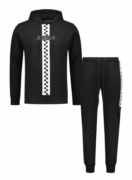Race Tracksuit | Black