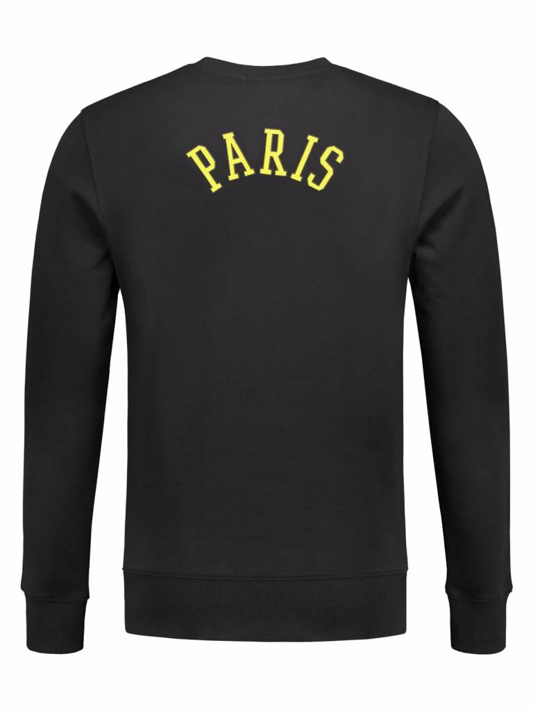 Paris City Sweater | Black