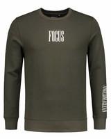 ANGEL&MACLEAN Army Focus Sweater