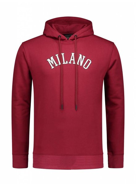 Milano City Hoodie | Bordeaux
