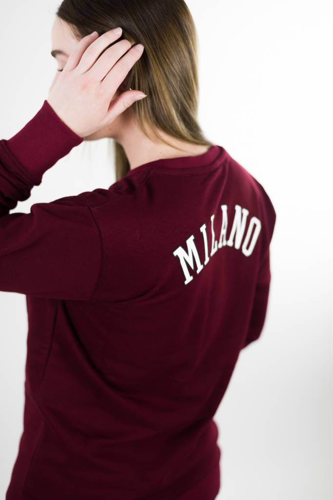 Milano City Sweater | Bordeaux