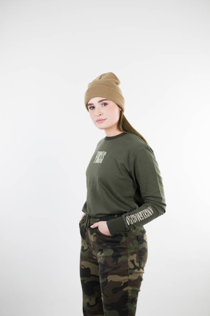 Focus Sweater | Army