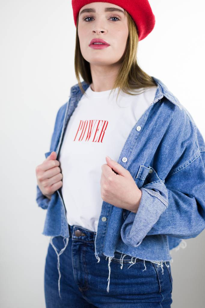 Power T-shirt | White