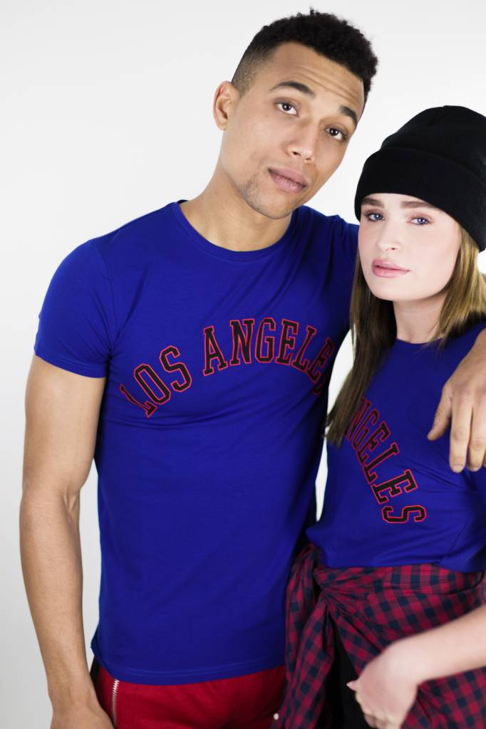 LA City T-shirt | Blue