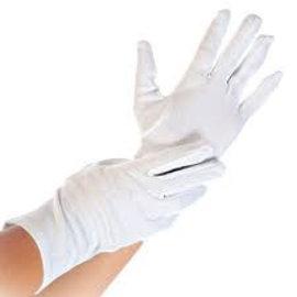 Franz Mensch HygoStar VOORDEELPAK 300 PAAR: Katoenen handschoen wit HygoStar (25x12 paar)