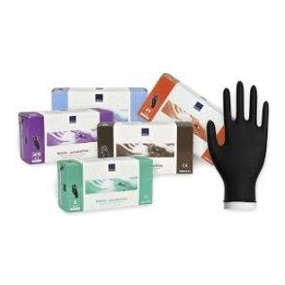Abena Classic Nitril handschoenen poedervrij zwart Abena CLASSIC 3,8 grams (10x100)