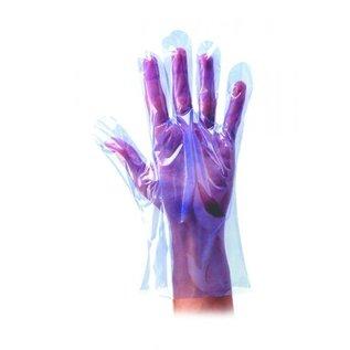 Polyco Healthline SHIELD PE handschoenen polyethyleen blauw SHIELD GD51 (100x100)
