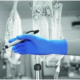 Polyco Healthline HandSafe Gants stérile nitrile bleu GS690 (4x50)