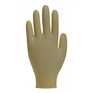 Polyco Healthline HandSafe Steril Handschuhe Latex puderfrei weiss HandSafe GS21 (4x50)