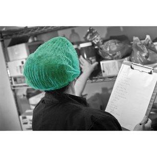Polyco Healthline SHIELD Haarnetje clip cap wokkel PP non-woven wegwerp SHIELD DM01 (10x100)