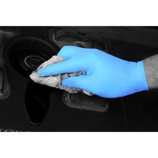 Polyco Healthline SHIELD AANBIEDING! Nitril handschoenen poedervrij blauw SHIELD GD19 (10x100)