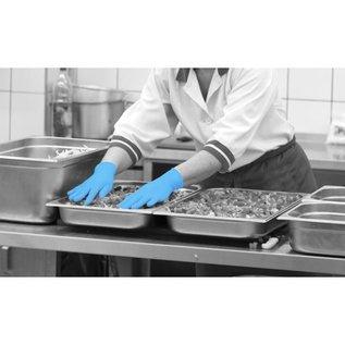 Polyco Healthline SHIELD PROMO! Gants nitrile non-poudré bleu SHIELD GD19 (10x100) - Copy