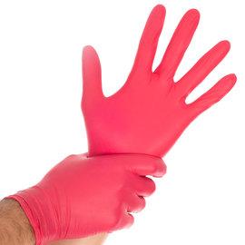 HYGOSTAR Nitril handschoenen rood HYGOSTAR Safe Light (10x100)