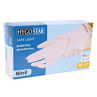 HYGOSTAR Nitril handschoenen poedervrij pink (10x100)