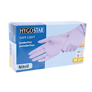 HYGOSTAR Nitril handschoenen poedervrij purple (10x100)