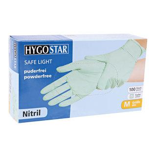 HYGOSTAR Gants nitrile non-poudré vert clair (10x100)