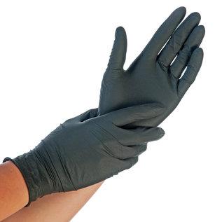 HYGOSTAR Nitril handschoenen EXTRA DIK poedervrij zwart (10x100)