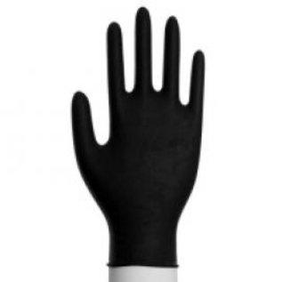 Abena Classic Gants nitrile non-poudré noir Abena CLASSIC 3,8 gramme (10x100)