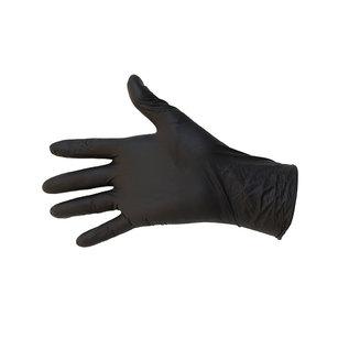 Abena Classic VITRILE BLEND handschoenen poedervrij zwart nitril+vinyl (10x100)