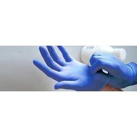 ABENA Gants latex non-poudré bleu Abena (10x100)