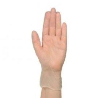 ABENA Gants vinyle poudré transparent médical 10x100)