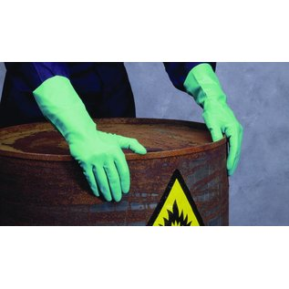 Polyco Healthline SHIELD Nitril handschoenen herbruikbaar 320 mm industrieel SHIELD GI/F12 (1x24 paar)