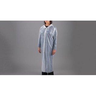 Polyco Healthline SHIELD Blouse visiteur jetable PE  poly-ethylene transparente SHIELD DC01 (240 pcs)