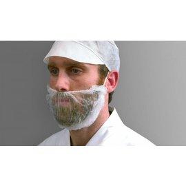 Polyco Healthline SHIELD Masque à barbe non-tissé jetable SHIELD DK05 (10x100)