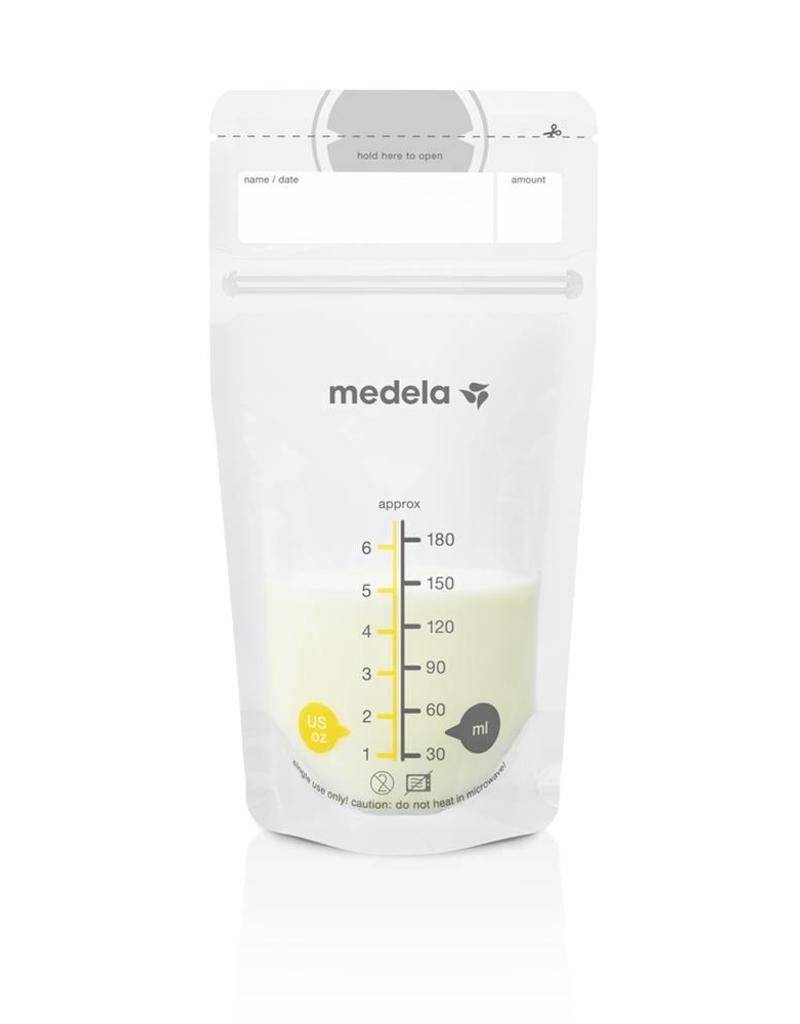 Medela Pump & Save Moedermelk Bewaarzakjes  25 of 50 st.