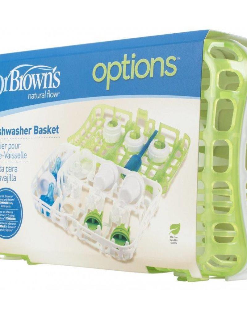 Dr. Brown's Vaatwassermandje v spenen, onderdelen en flessen Dr. Brown's