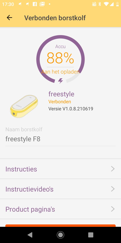 MyMedela App 2