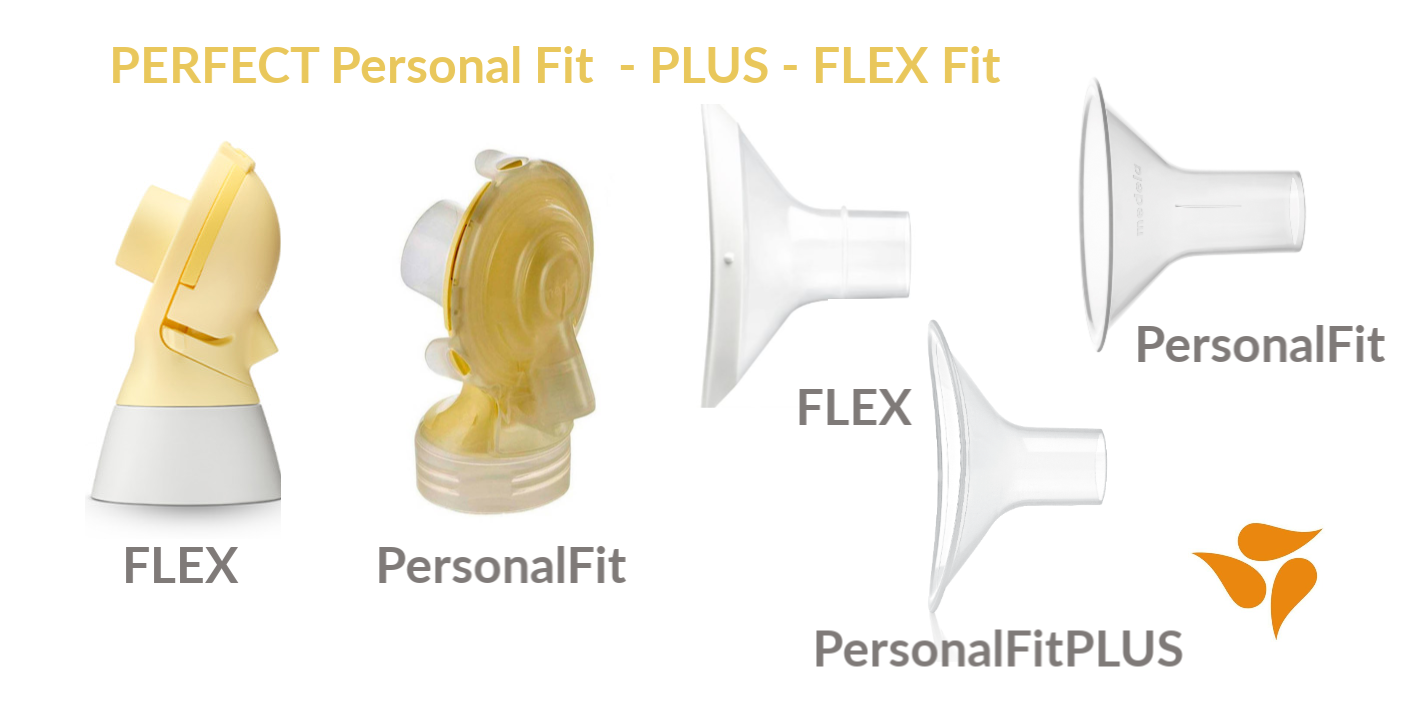 Medela Personal Fit - FLEX fit - fit PLUS