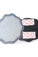 Nuby Zwarte, disposable zoogcompressen - Droog - Superdun