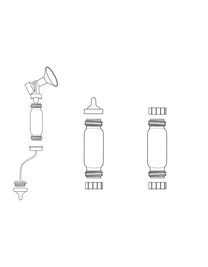 LacTeck Pump2Baby fles