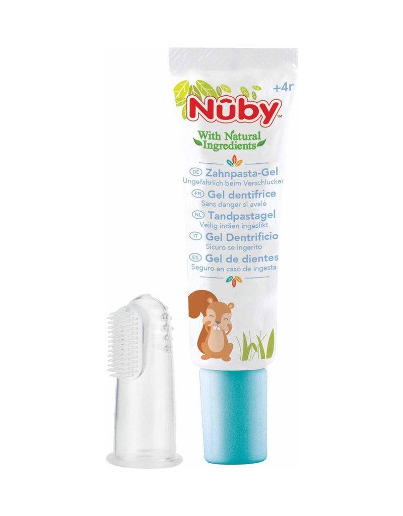 Nuby Tandpastagel 4m+