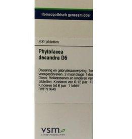VSM Phytolacca decandra D6