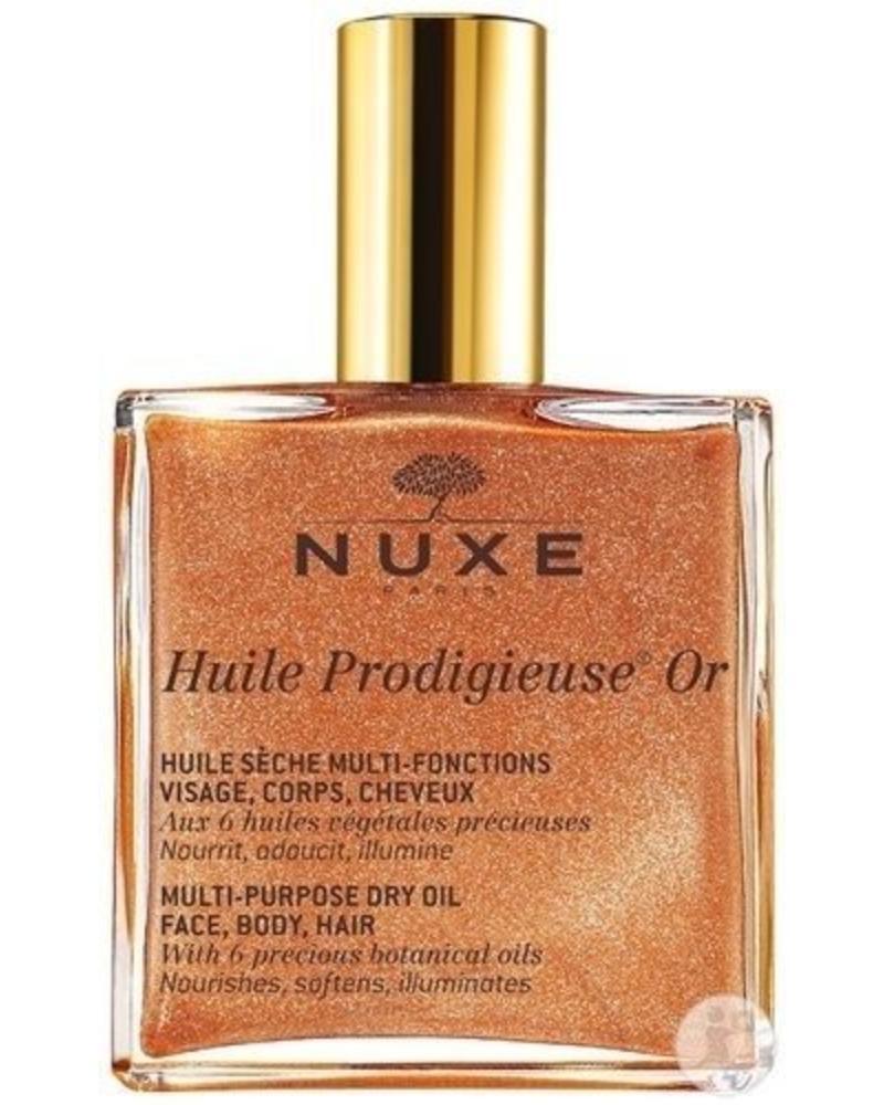 NUXE Nuxe Huile Prodigieuse Multi-Purpose Dry Oil - Golden Shimmer 100ml