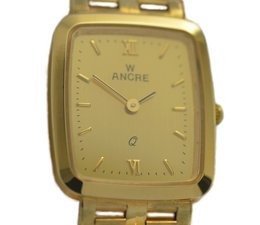 Ancre 14 crt. golden ladywatch Ancre, new, quarts.