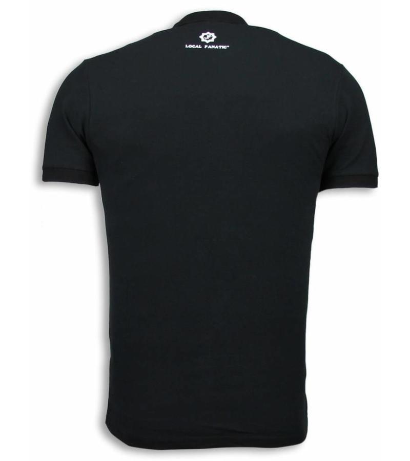 Local Fanatic Rocky Balboa The Movie Polo - Herr T Shirt - 5979 - Svart