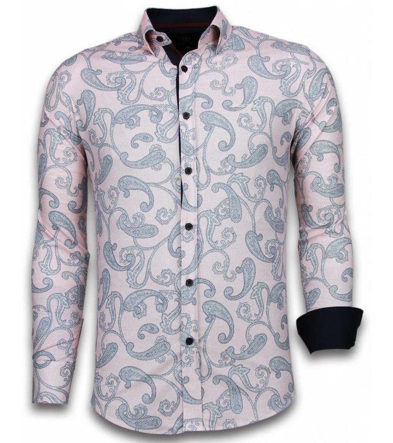 Gentile Bellini Trendiga skjortor herr - Online kläder män - 2038 - Rosa